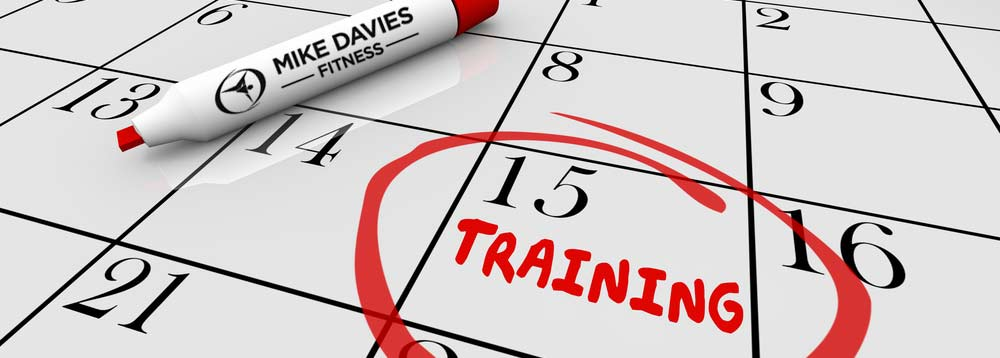 Mike Davies Training Schedule