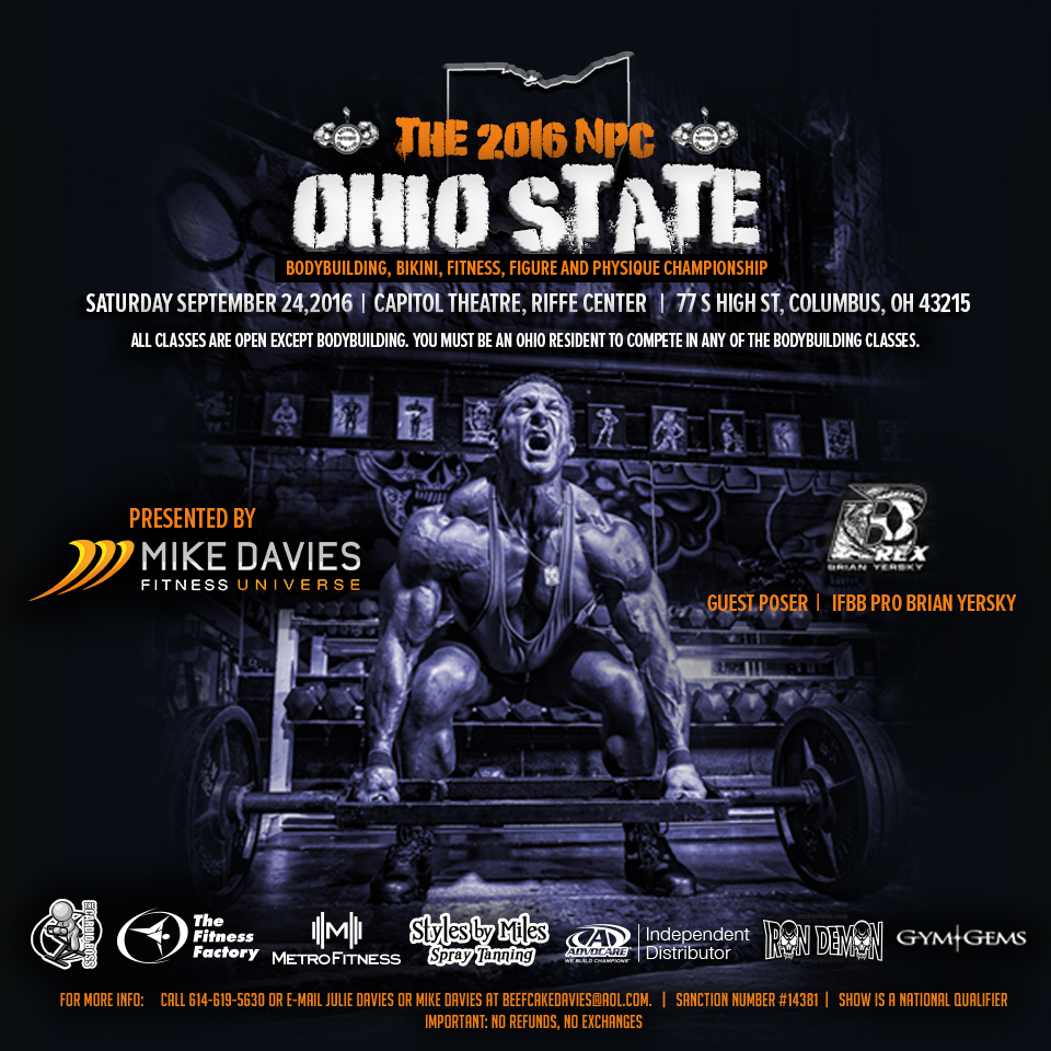 The Facts For 2017 On Reasonable Bodybuilding Products: The 2016 NPC Ohio State Bodybuilding, Bikini, Fitness