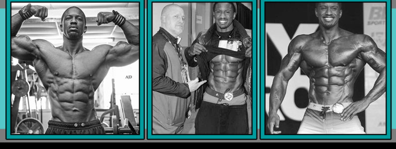 IFBB Pro George Brown and Mike Davies